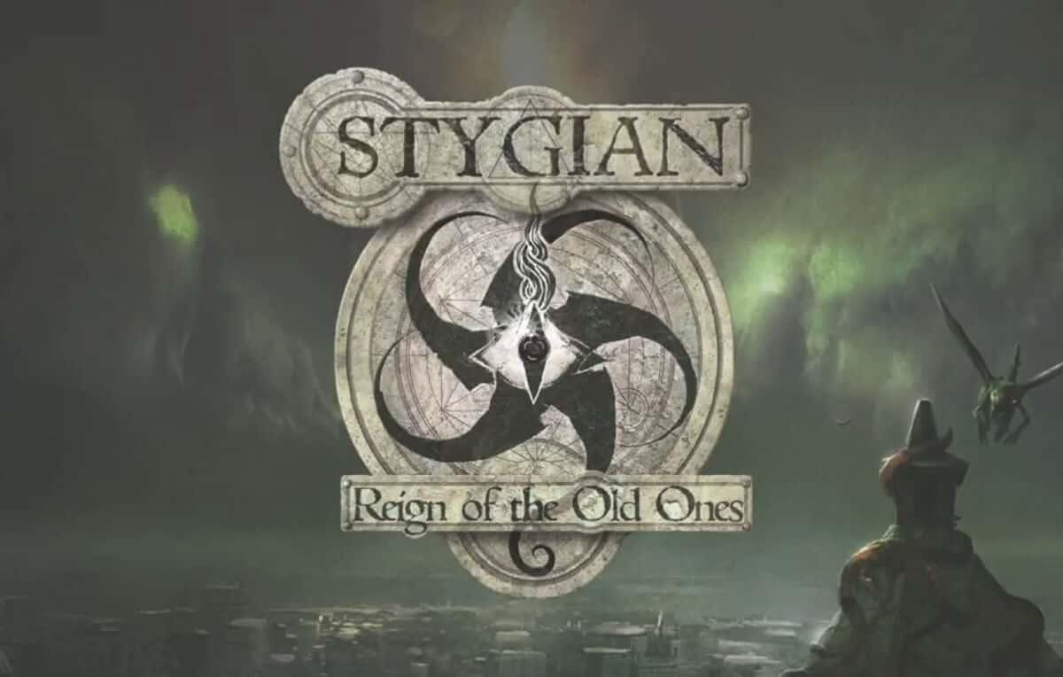 Stygian lovecraftian horror RPG releases today