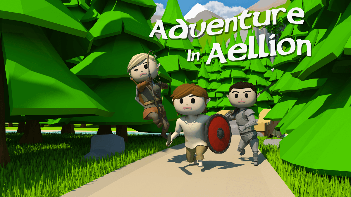 Adventure in Aellion upcoming open world RPG