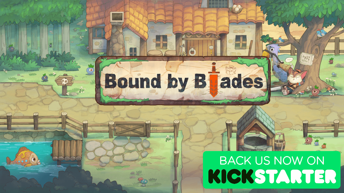 bound by blades cooperative action rpg on kickstarter for windows pc then linux