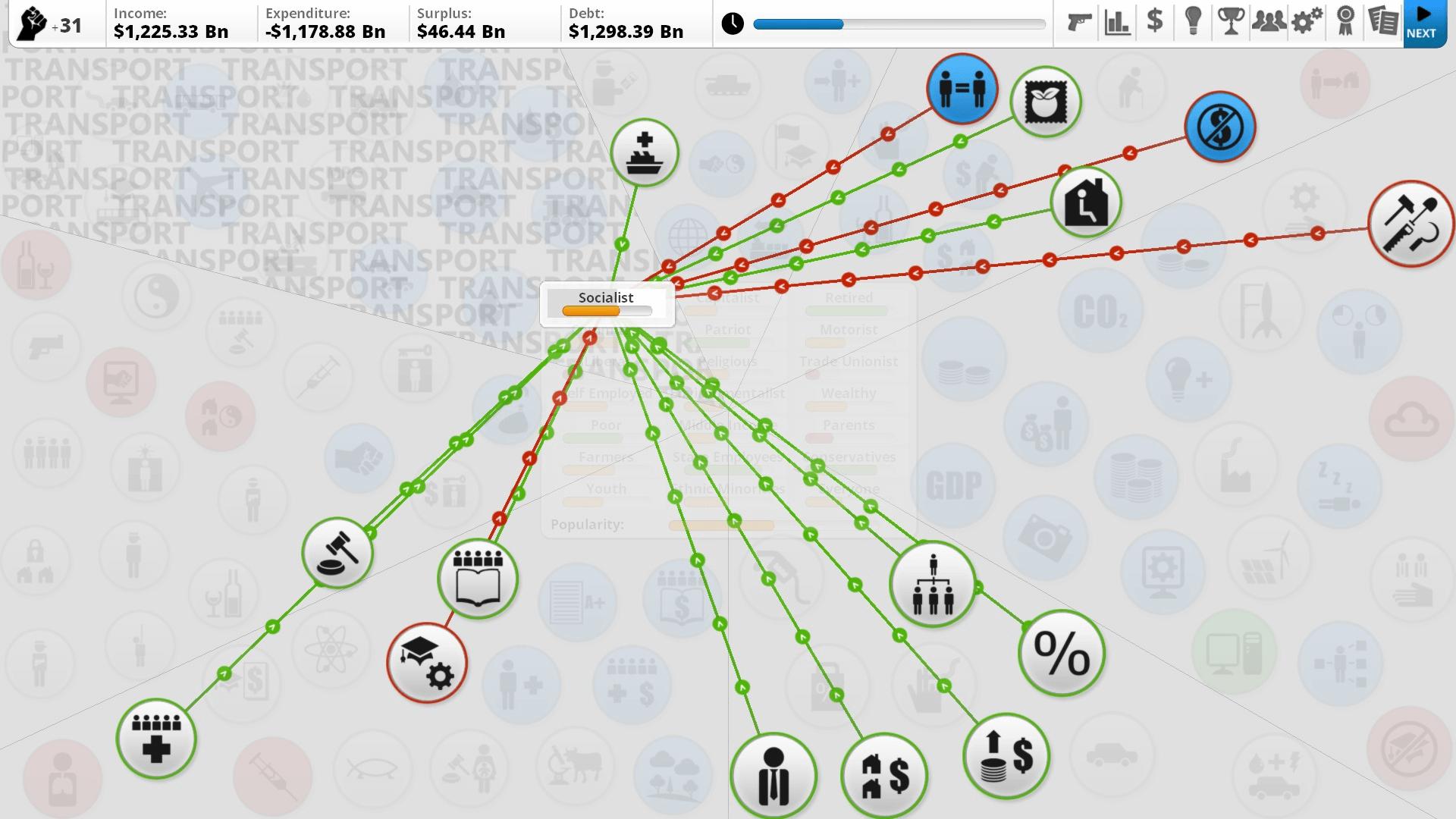 democracy 4 screenshots and developer update for linux mac windows pc status