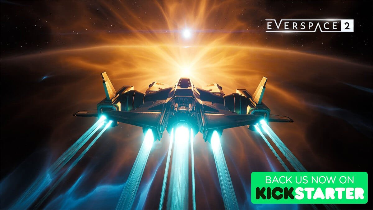 EVERSPACE 2 space shooter live on Kickstarter
