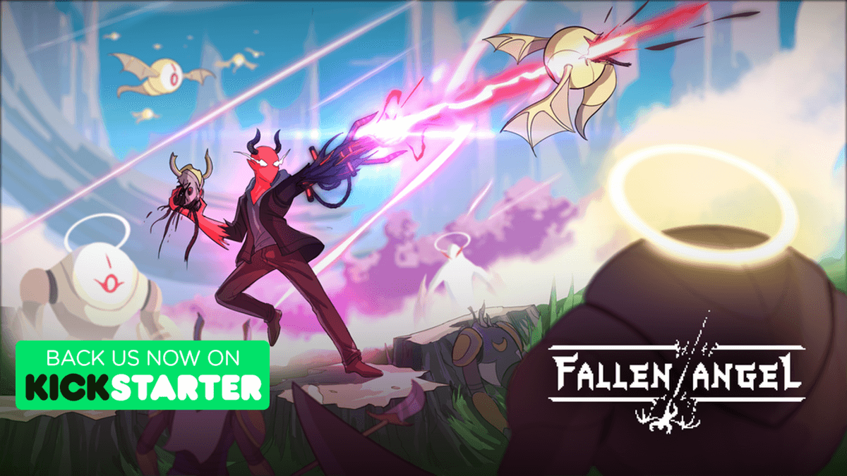 fallen angel turns you into a devil on kickstarter for linux windows pc