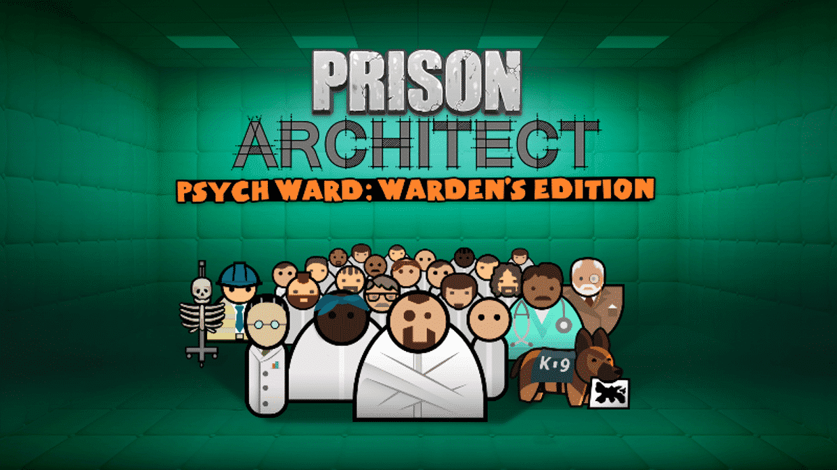 psych ward warden's edition expansion prison architect reveal for linux mac windows pc