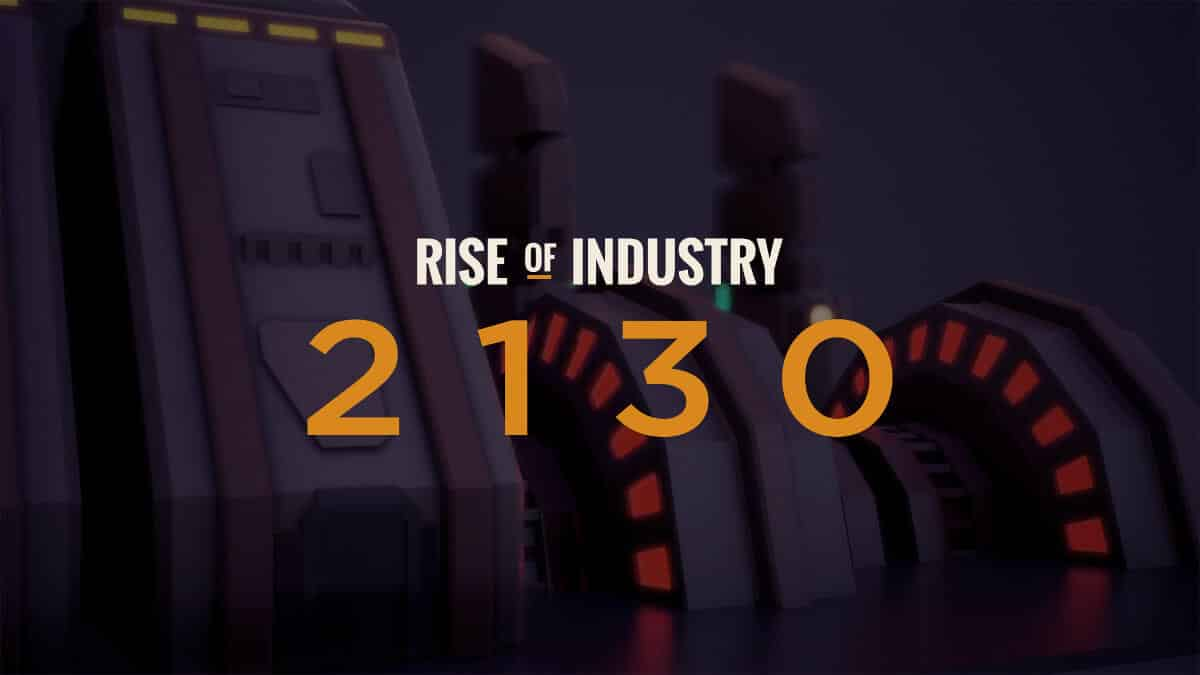 rise of industry 2130 expansion release date for linux mac windows pc