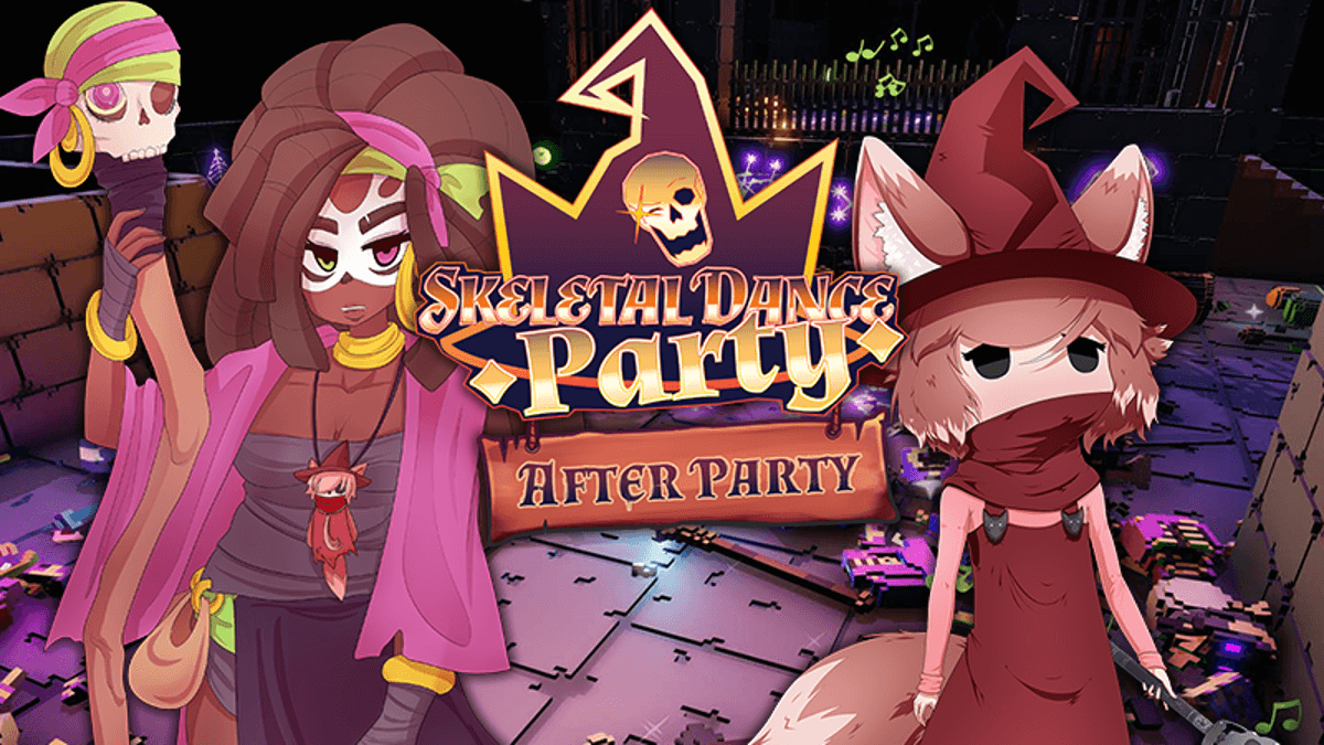 Afterparty update out for Skeletal Dance Party