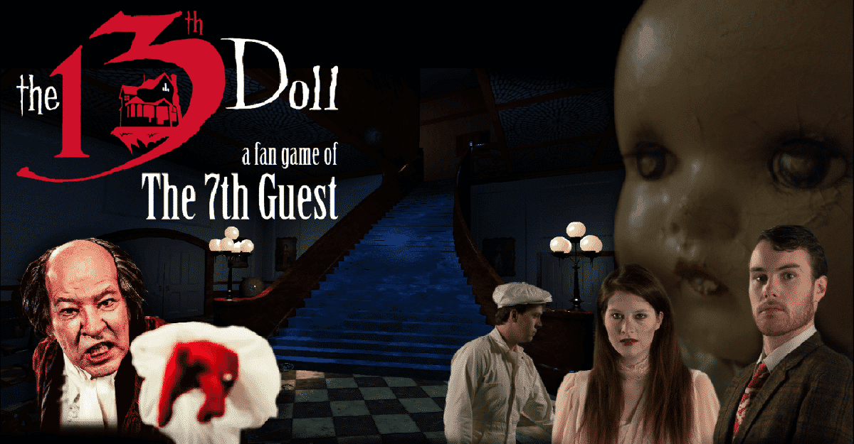 The 13th Doll fmv puzzle game to release soon
