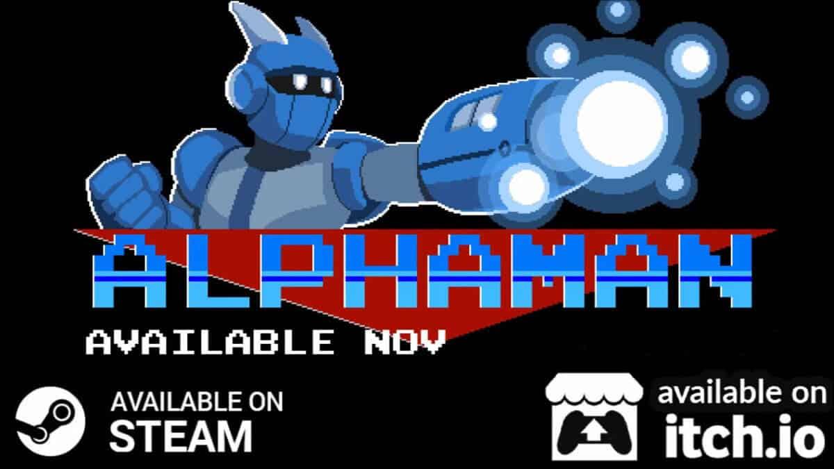 alphaman a new megaman like platformer on linux windows pc