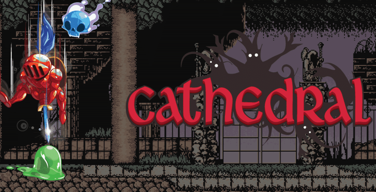 Cathedral retro metroidvania release is live