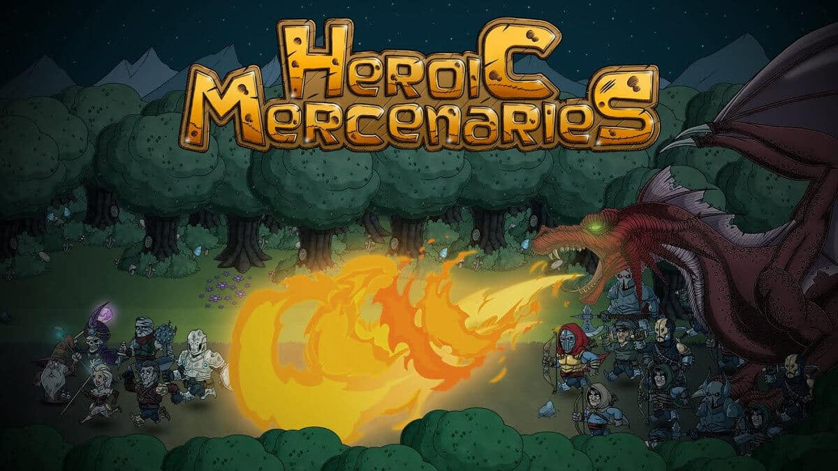 heroic mercenaries releases fast paced mayhem on linux and windows pc