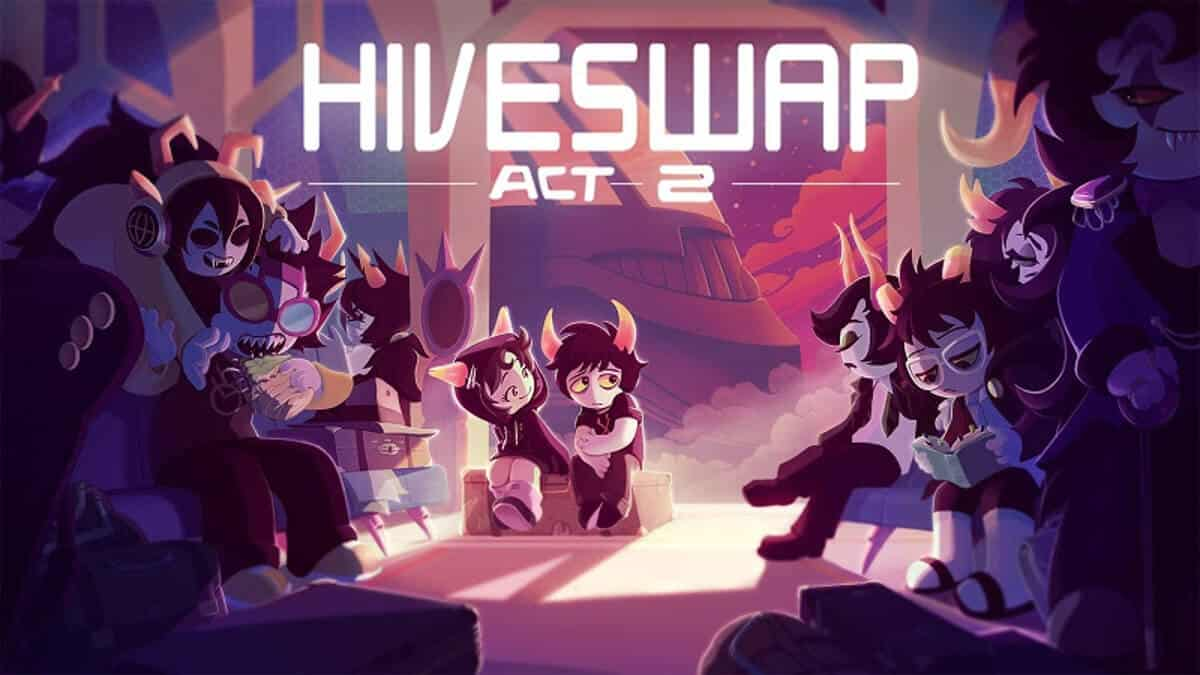 Hiveswap Act 2 key art and teaser trailer