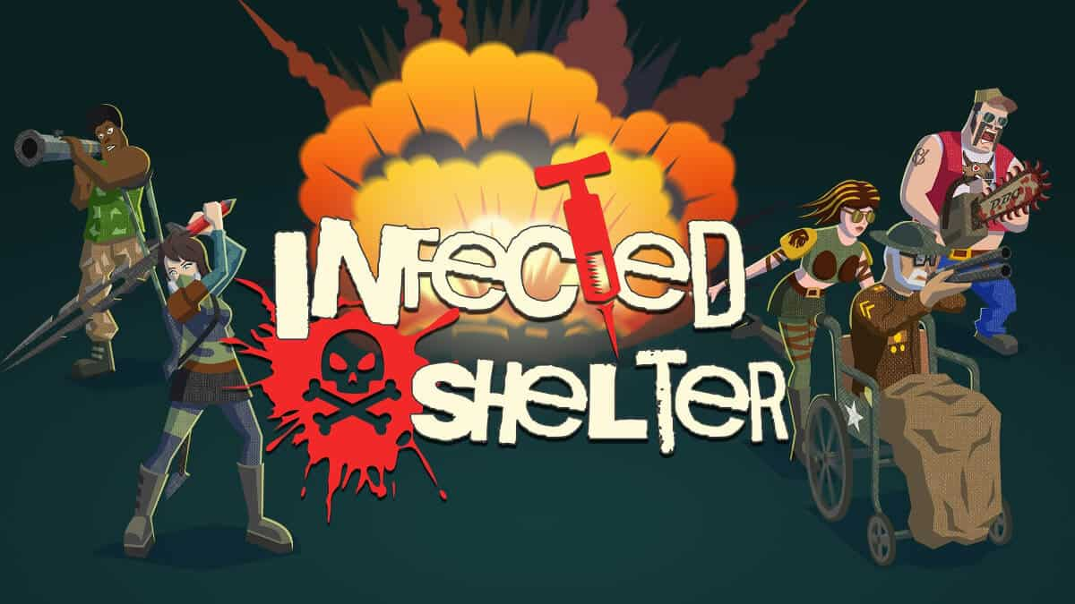 infected shelter roguelite support plan update for linux windows pc