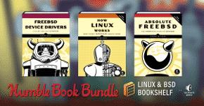 linux bsd bookshelf book bundle drm free pdf