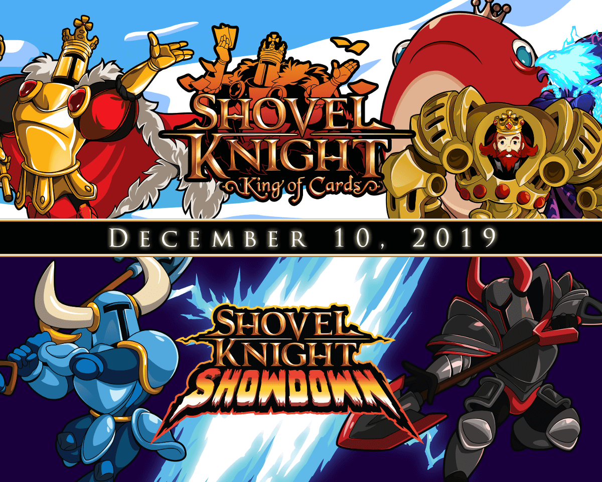 shovel knight king of cards and showdown has a release date for linux mac windows pc