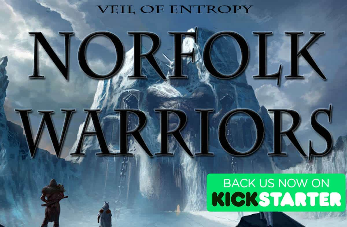veil of entropy norfolk warriors on kickstarter with support goal for linux mac windows pc