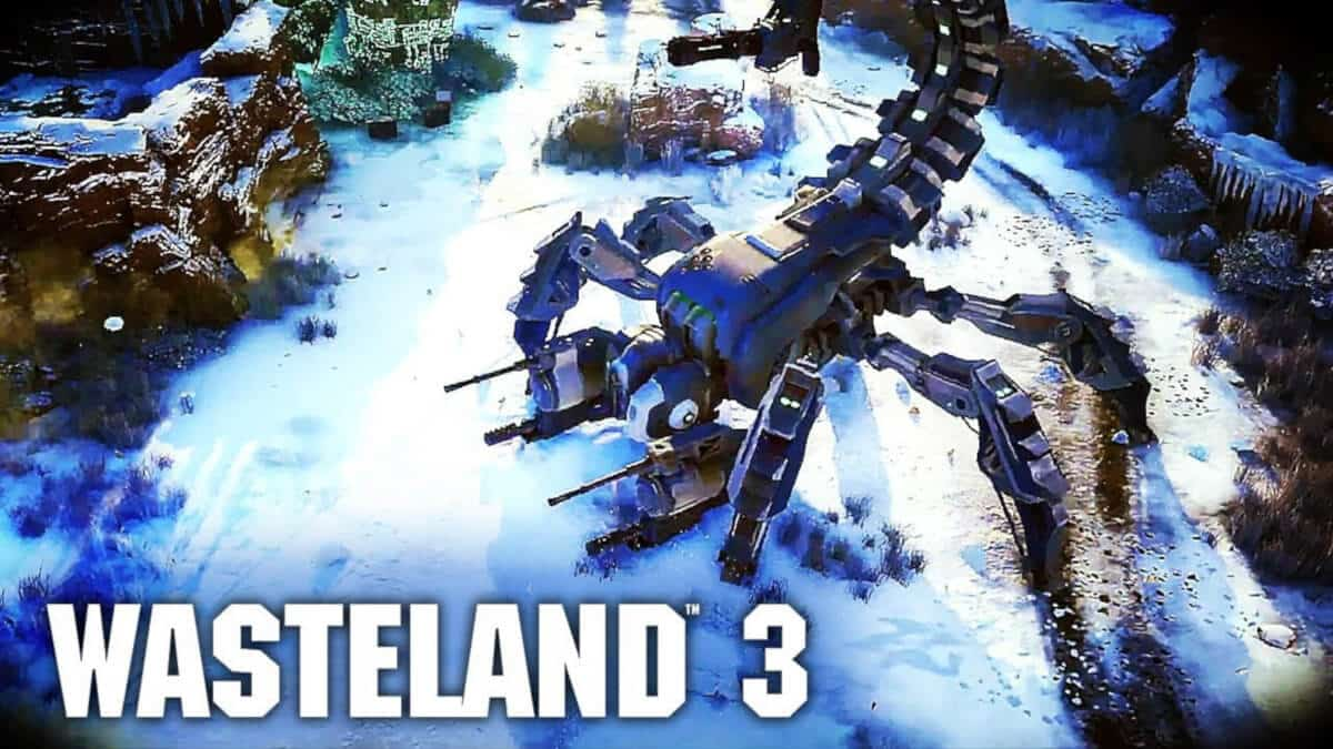 Wasteland 3 new trailer and release date