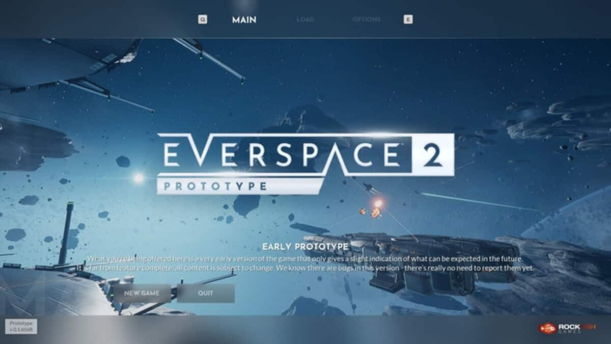 EVERSPACE 2 prototype build releases to backers