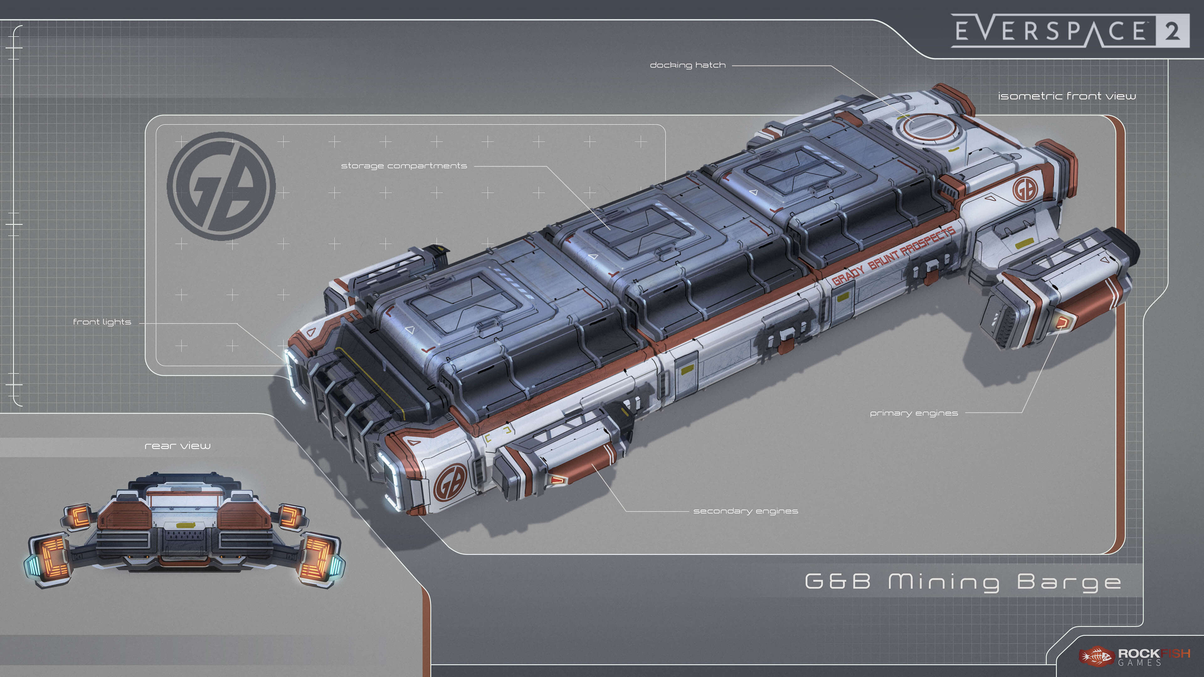 grady and brunt everspace 2 mining barge
