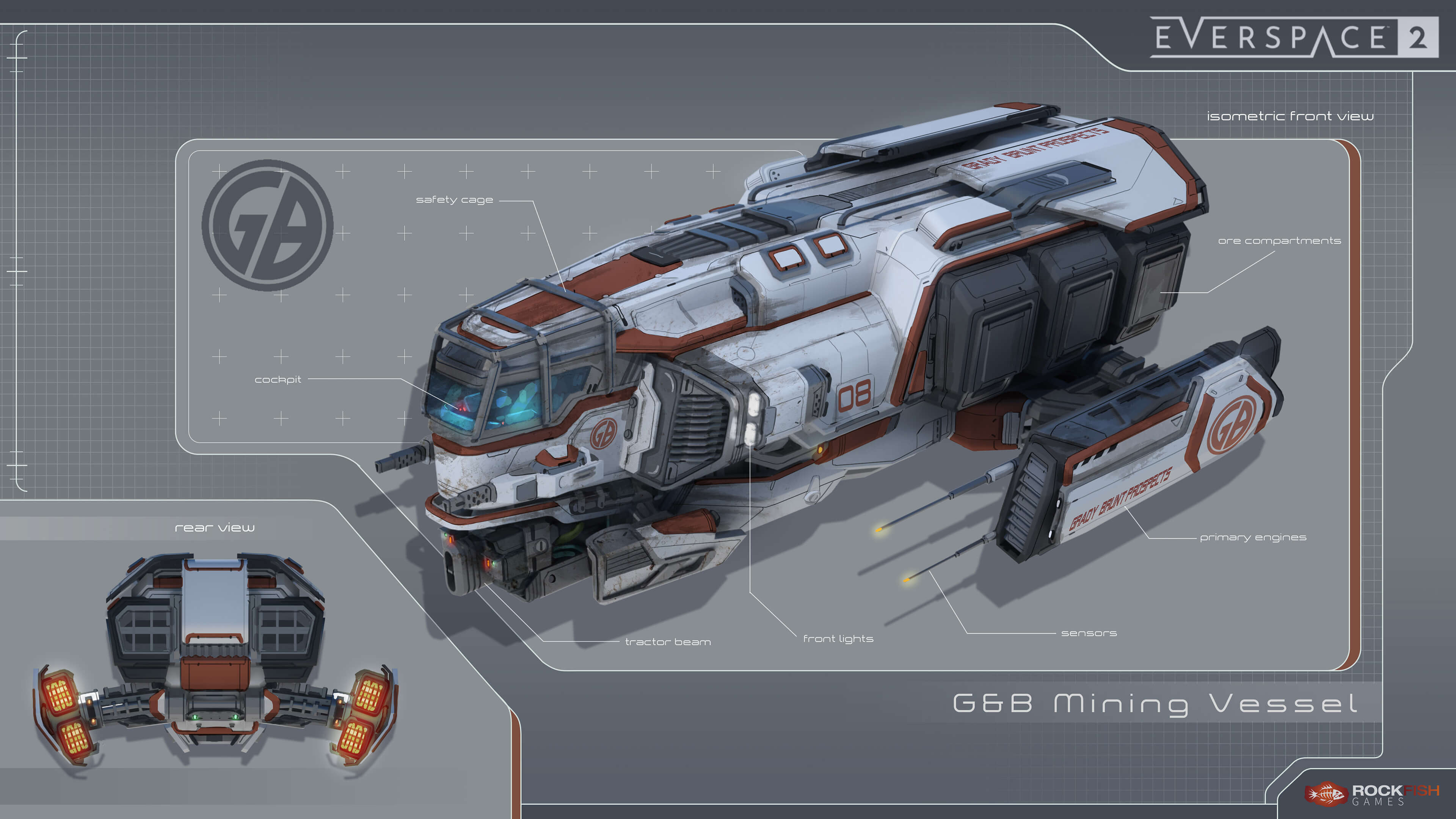 grady and brunt everspace 2 mining vessel