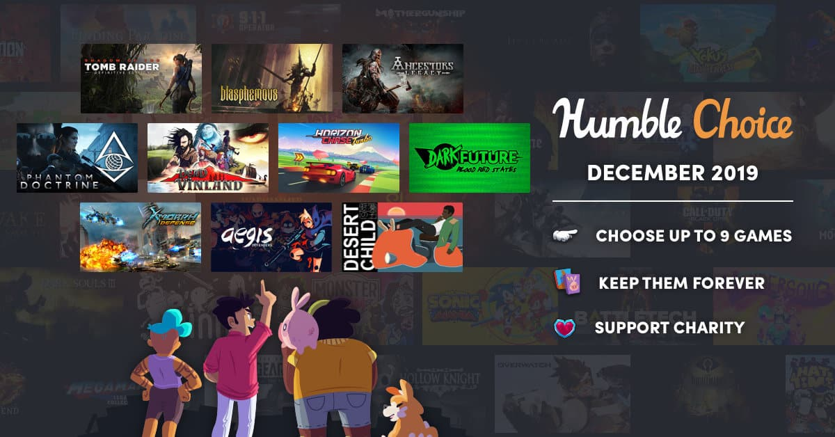 humble choice takes over for monthly games on linux mac windows pc