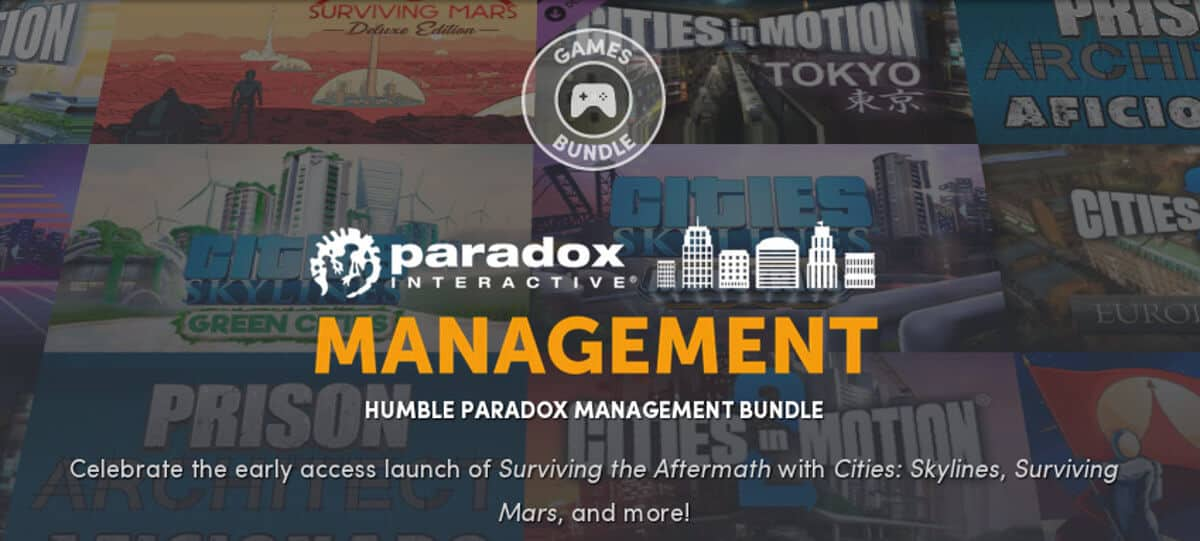 humble paradox management bundle releases for linux mac windows pc