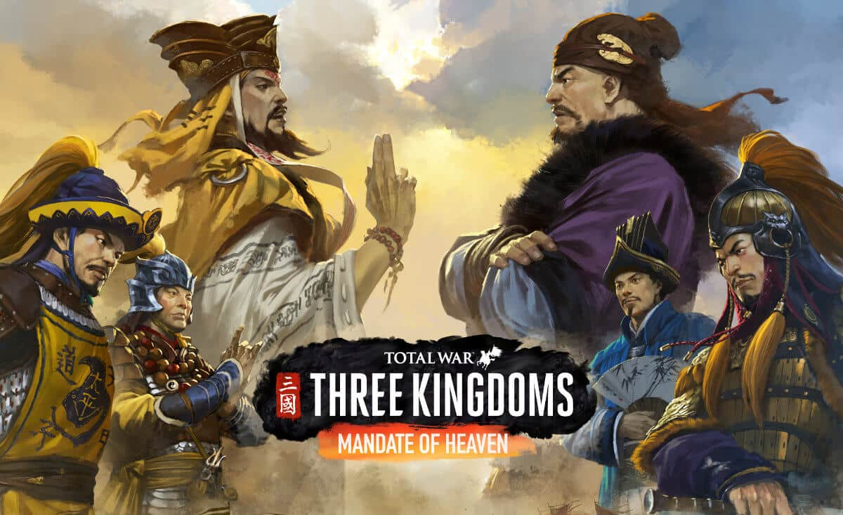 mandate of heaven announced for total war: three kingdoms with support for linux mac windows pc