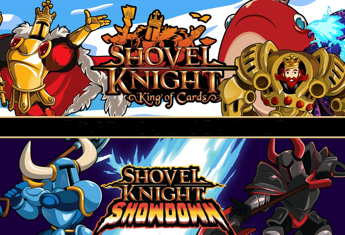 shovel knight king of cards and showdown release on linux mac windows pc