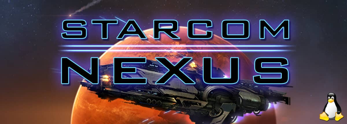 starcom: nexus has experimental linux build