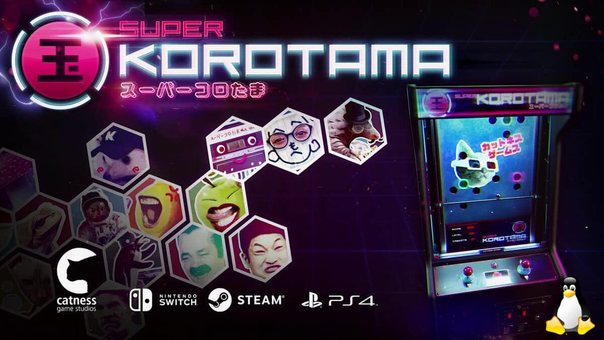 super korotama a retro style arcade game for linux mac windows pc