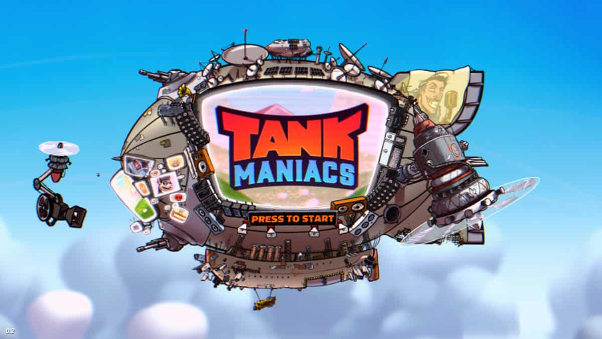 Tank Maniacs a local multiplayer releases