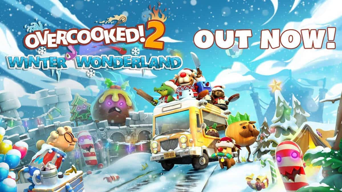 winter wonderland free update for overcooked! 2 on linux mac windows pc