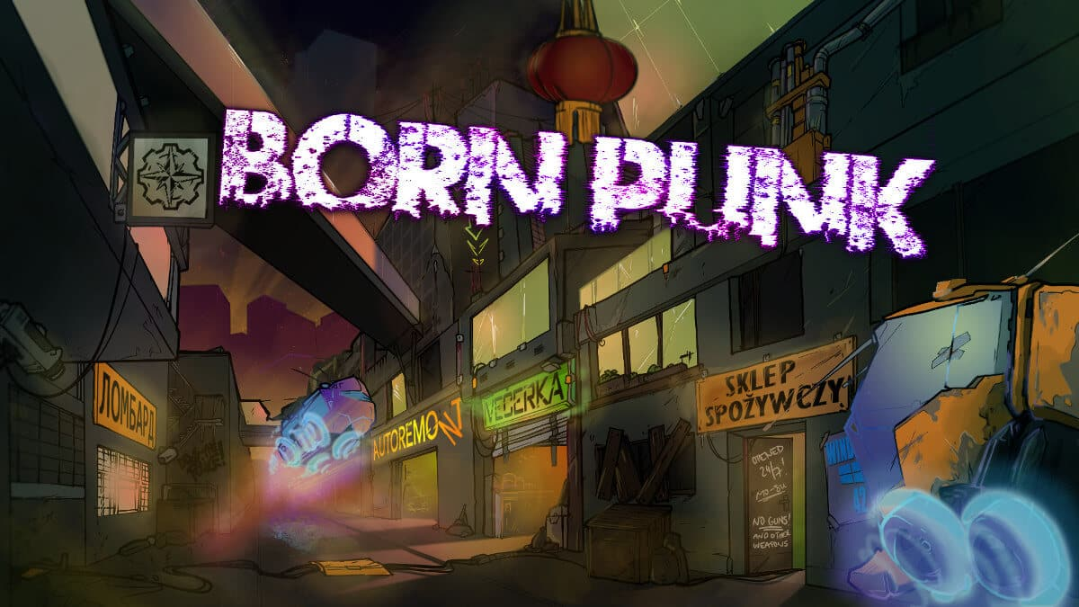born punk point and click headed to steam for linux mac windows pc