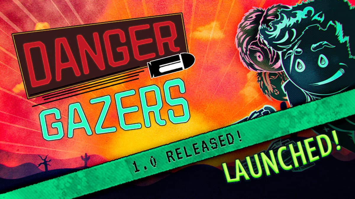 danger gazers top down shooter launches for linux and windows pc