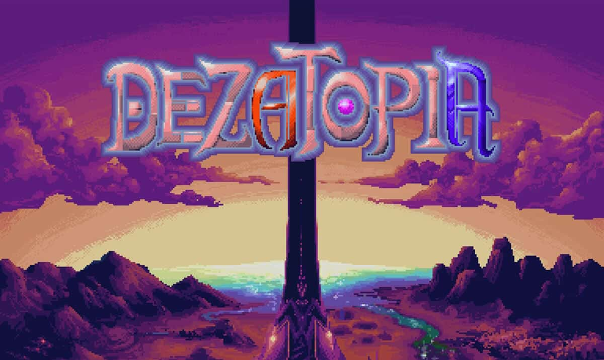 dezatopia retro shoot em up is making noise on linux mac windows pc