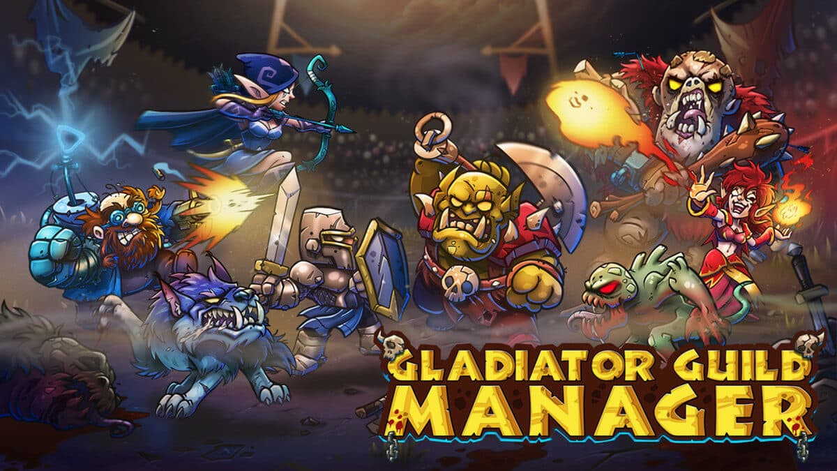 gladiator guild manager new strategy seeks kickstarter funding for linux mac windows pc
