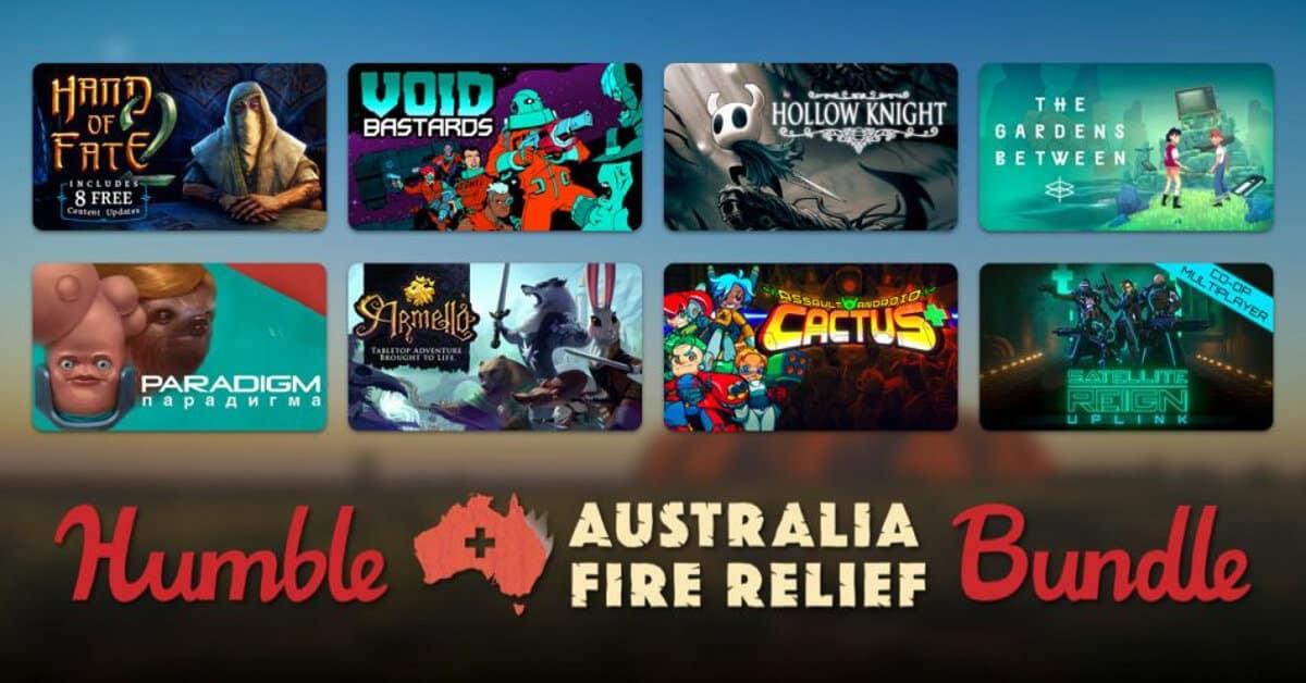 humble australia fire relief bundle goes live for linux mac windows pc