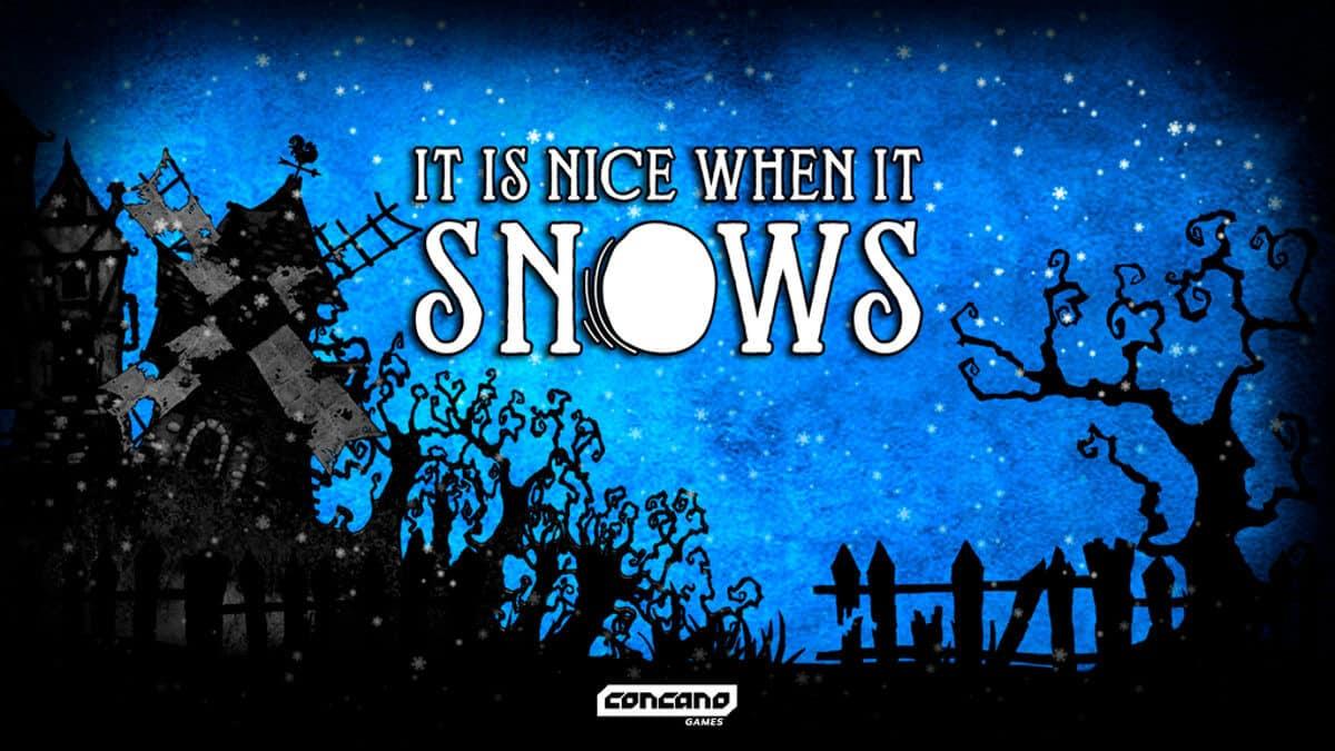 it is nice when it snows puzzles kickstarter linux mac windows pc