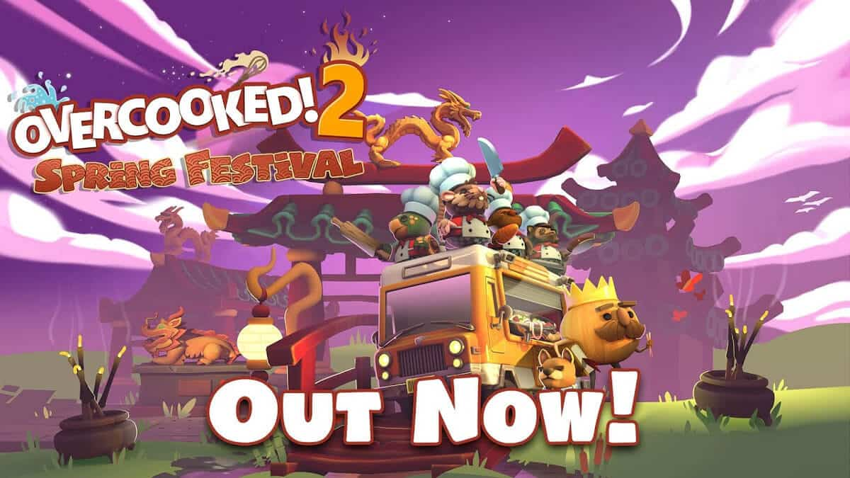 overcooked! 2 is back with the spring festival free update for linux mac windows pc