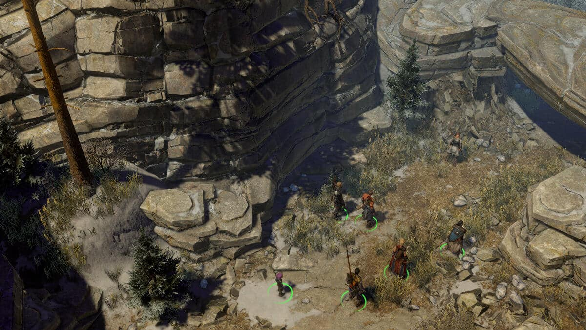screenshot gibbering swarm canyon enter ahead of the Kickstarter date