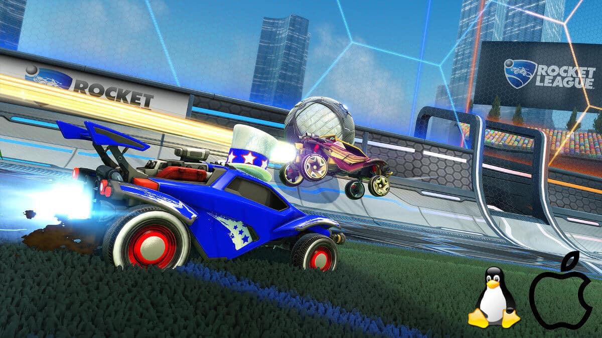 Rocket League developer drops native support