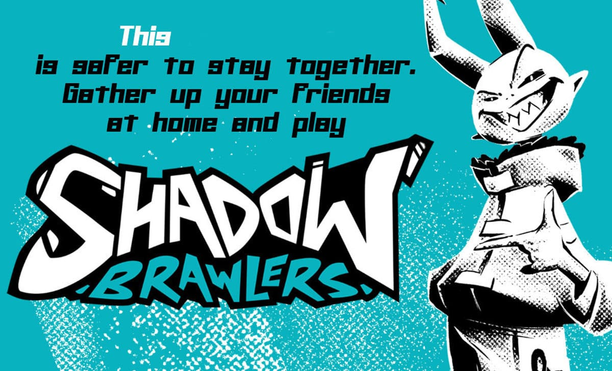 shadow brawlers local party game to receive a linux build beside windows pc