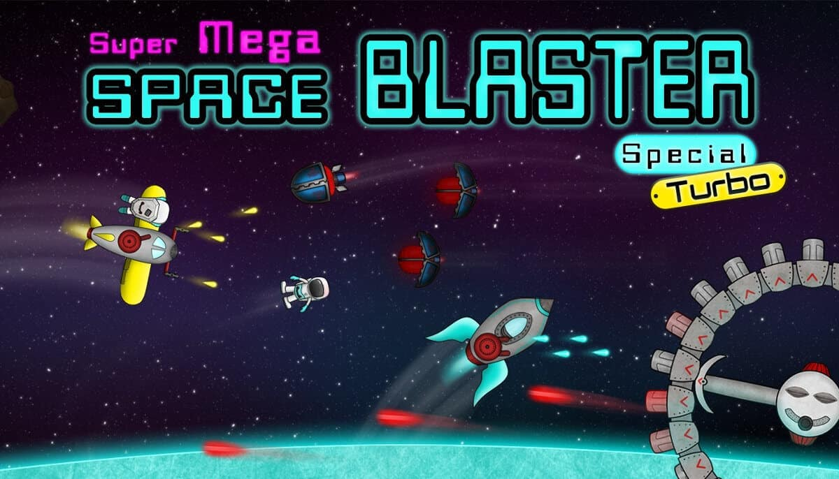 Super Mega Space Blaster incoming this month