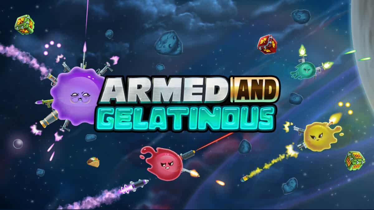 armed and gelatinous action game has a launch date for linux mac windows pc