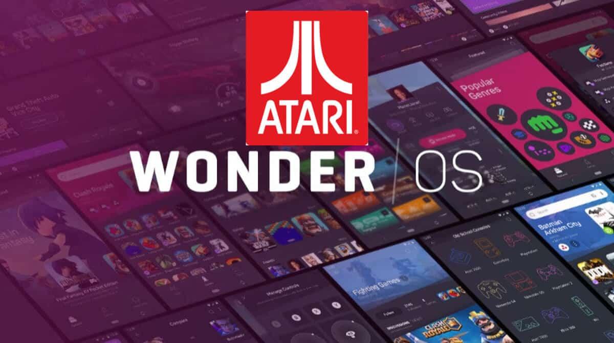 Atari and WonderOS establish a partnership for linux gaming console