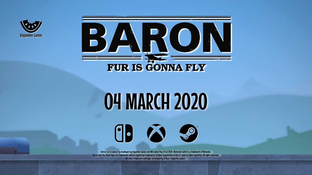 baron: fur is gonna fly game will release on steam for linux windows pc