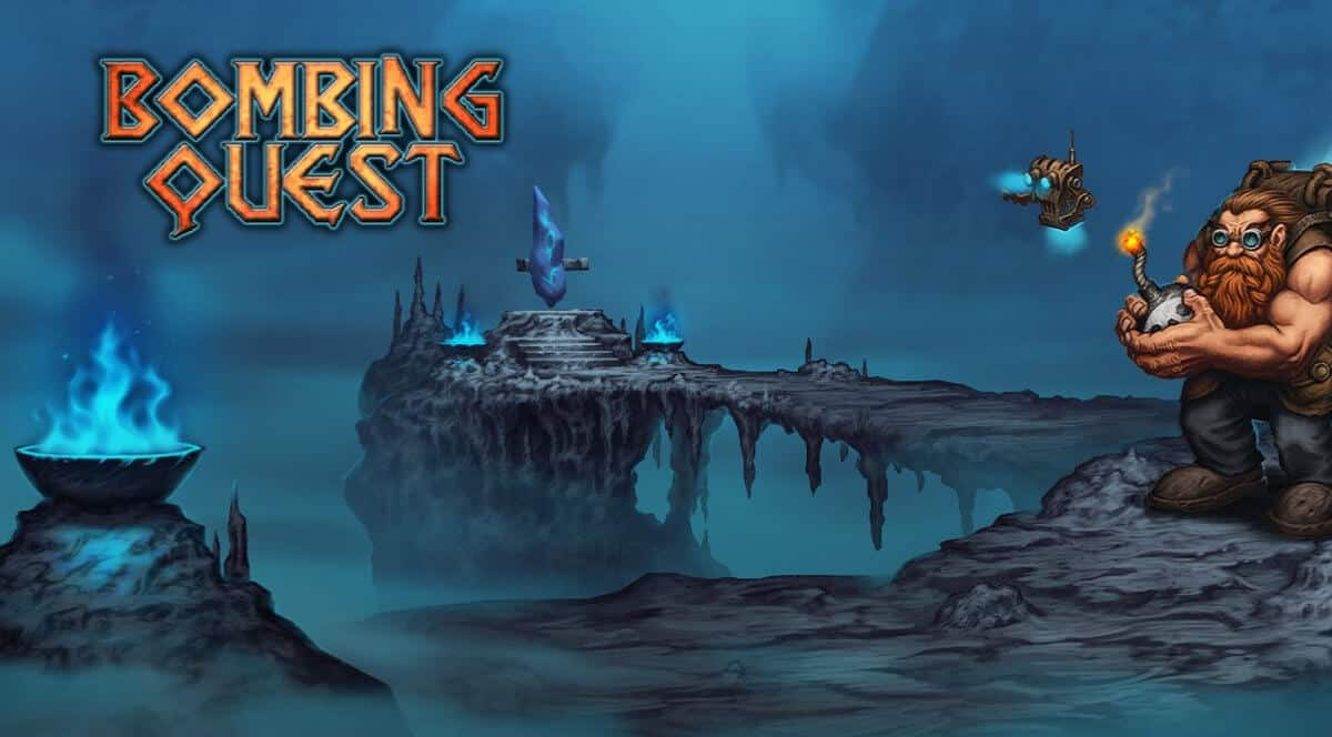 bombing quest fantasy rpg game to receive support for linux windows pc