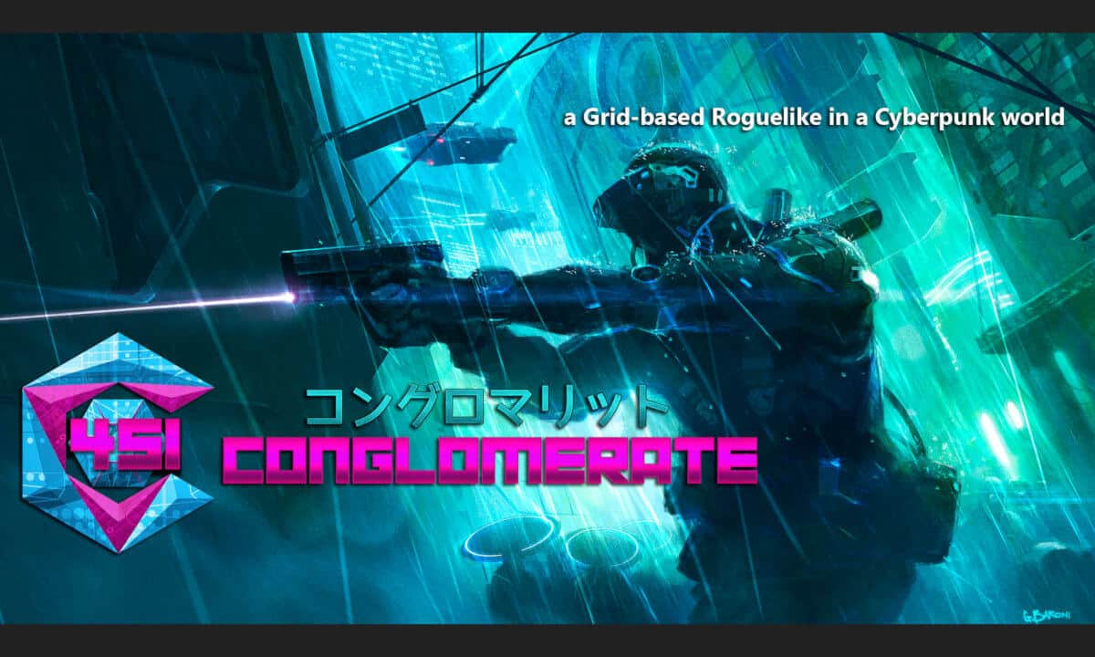 conglomerate 451 RPG game launches with linux support beside mac windows pc