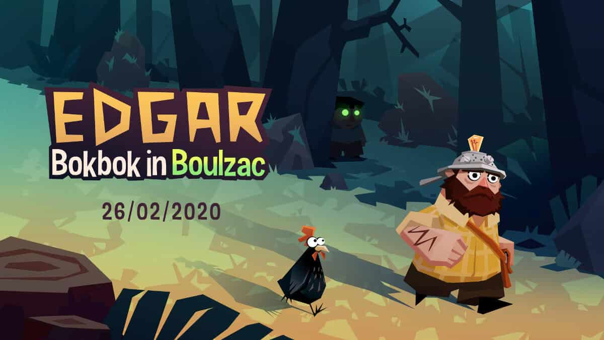 Edgar – Bokbok in Boulzac a point and cluck debut