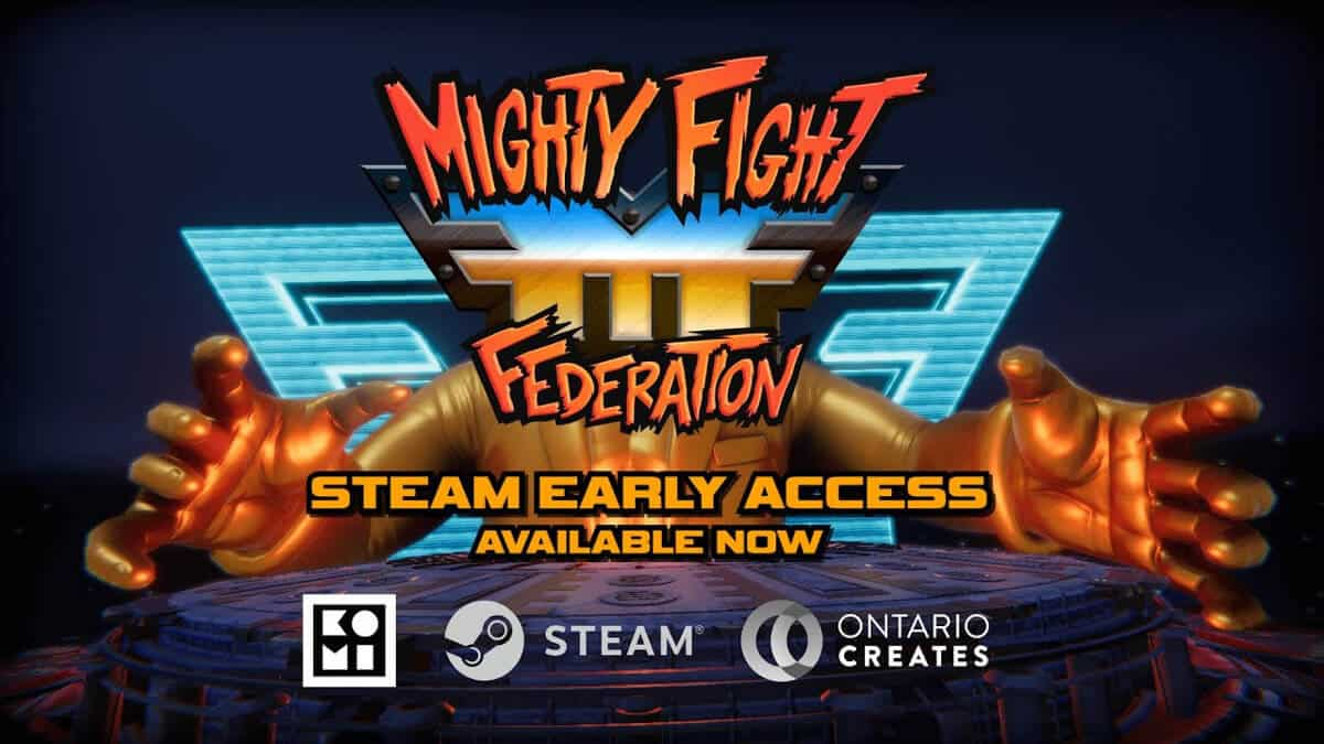 mighty fight federation support is coming soon to linux beside windows pc fighting game