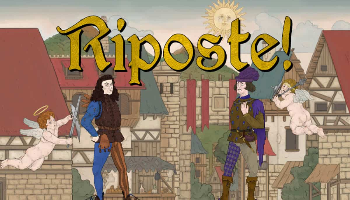 Riposte medieval party fighting game inbound