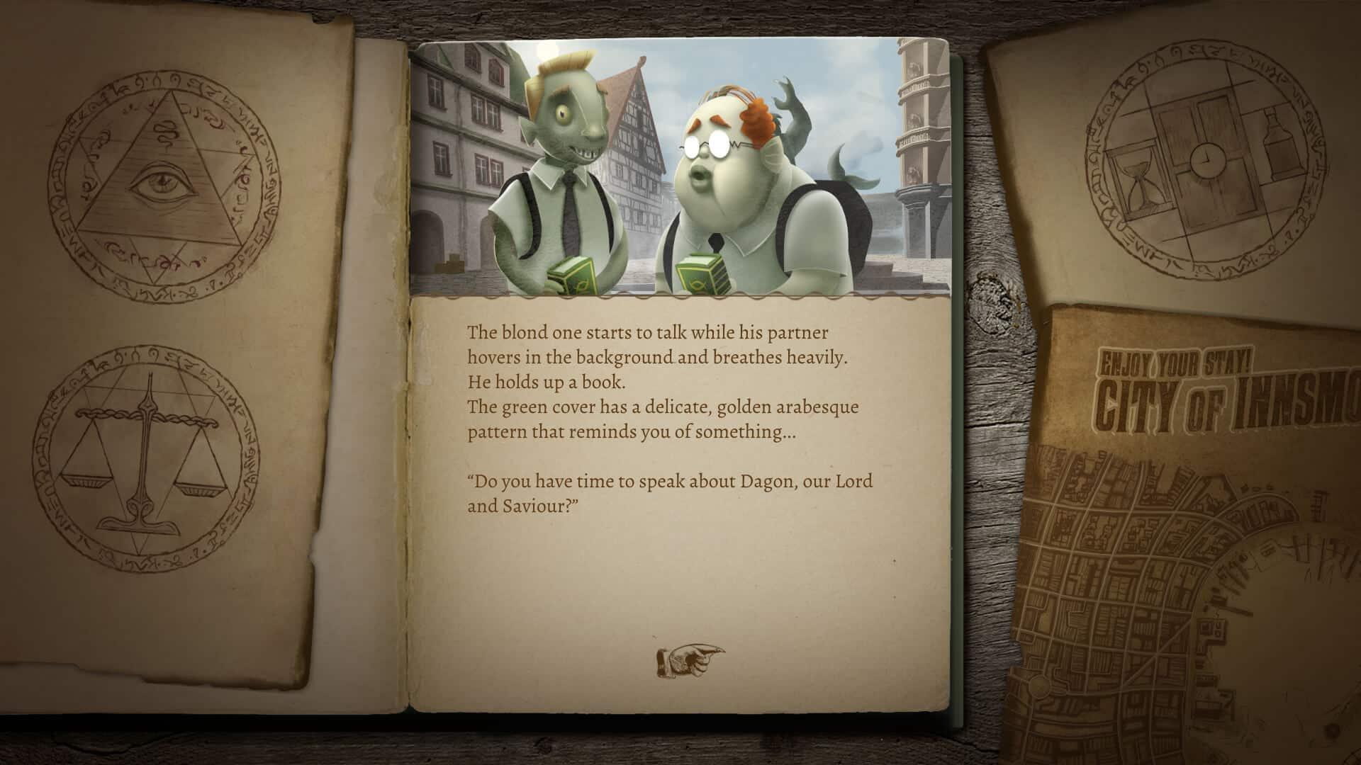 Lovecraftian interative horror story games support screenshot 02